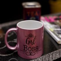 Metallic Pink Mug