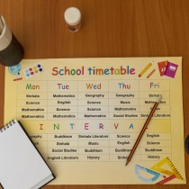 School Items - Time Table