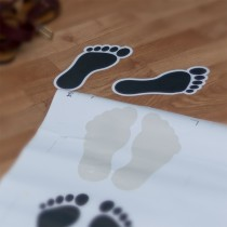 Foot print Stickers