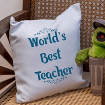 Teacher's Day Cushion Cover