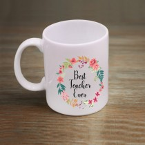 Teacher's Day White Mug
