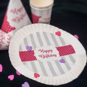 Theme Party Paper Plate