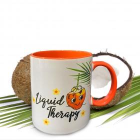 Orange Inner colour Mug