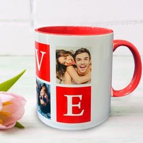 Inner Coloured Red Mug