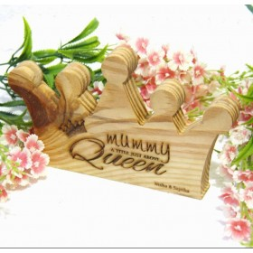 Mother's Day Wooden Crown