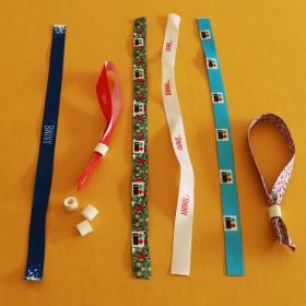 Fabric Security Wristband