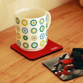 Sublimated Foam Coasters