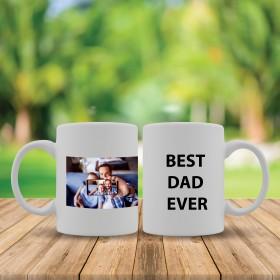 """Best dad ever"" mug"