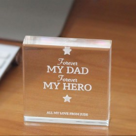 Father's Day Crystal