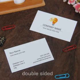 Double Sided Visiting Cards