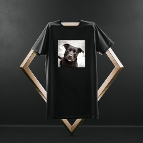 Doggie Black T Shirt
