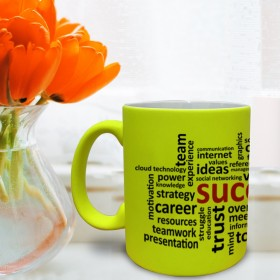 Luminous Yellow Mug