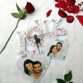 Valentine Love Clock