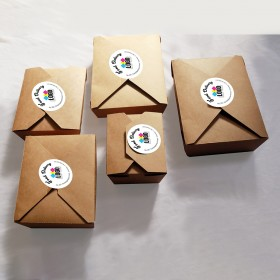 Eco-Friendly Food Takeout Box