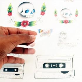 Temporary Tattoo Sticker Print