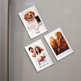 Classic Polaroid Sized Fridge Magnet