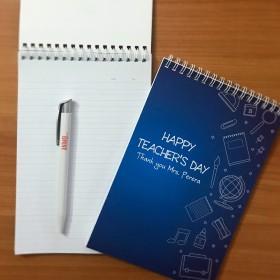 Teacher's Day Notebook