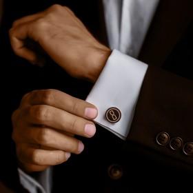 Custom Wooden Cufflinks