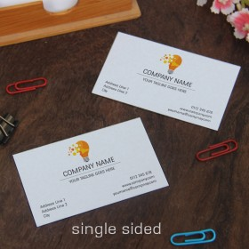 Single Sided Visiting Cards