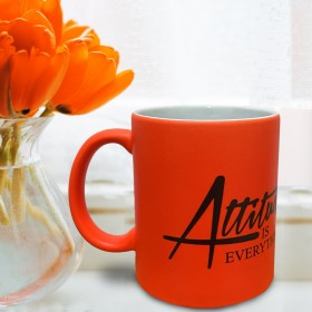 Luminous Orange Mug