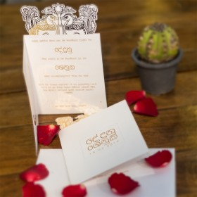 Sinhala Hansa Poottu Wedding Card
