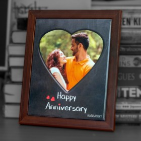 Anniversary - 8x10 Tile with Frame