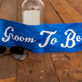 Stag Party Sash (Groom To Be)