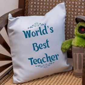 Teacher's Day Cushion Cover