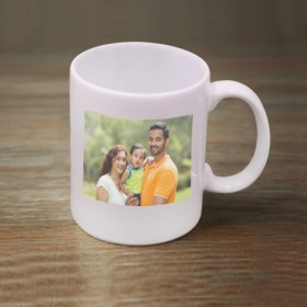 White Photo Mug